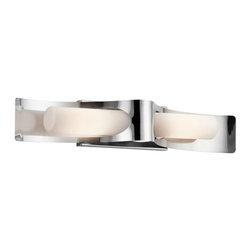 Kichler Lighting - Kichler Lighting 49151PSS316 Zolder Modern / Contemporary Outdoor Wall Sconce - Kichler Lighting 49151PSS316 Zolder Modern / Contemporary Outdoor Wall Sconce