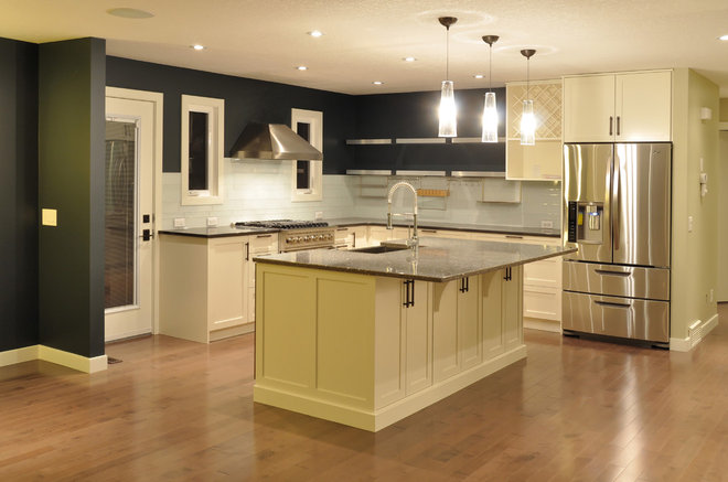 Contemporary Kitchen by Within Licensed Interior Design Inc.