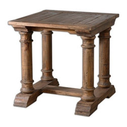 Uttermost - Uttermost - Saturia End Table - 24341 - Features: