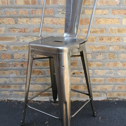 Tolix Bar Stool - Finding great looking, functional bar-stools is a pet peeve of mine-I have the hardest time finding great ones!. I've spec'd Tolix many times, love the functional beauty. A personal fave.