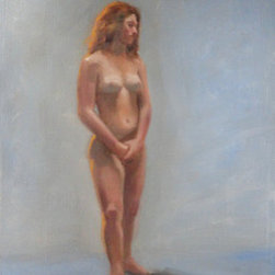 """In Good Standing"" (Original) By Elizabeth  Jose - Painted From The Model."