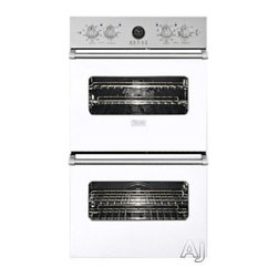 """Viking 27"""" Double Electric Wall Oven, White 