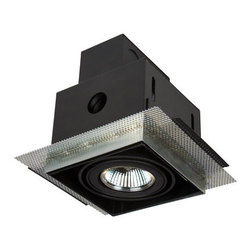 """Eurofase Lighting - Eurofase Lighting TE211TR-01 Black  3 1/4 Inch Trimless Recessed 1 - Eurofase Lighting TE211TR 3 1/4 Inch Trimless Recessed 1 Light with TransformerWonderful and magnificent, this recessed trim is a great way to accent your style. Reward yourself with this charming recessed trim.Specifications:Height: 5.18""""Length: 4""""Safety Rating: cETLus"""