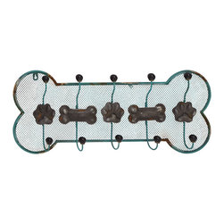 Alluring Styled Metal Wall Hook - Description: