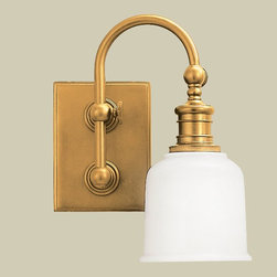 Well Appointed Bath Light - 1 Lt. (4 finishes!) -