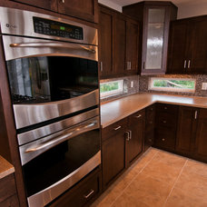 Contemporary Kitchen Cabinetry by Lawsons Signature Kitchens