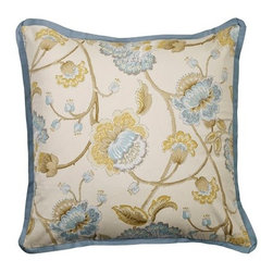 Mystic Home - Cumberland - Floral Euro Sham by Mystic Home - The Cumberland, by Mystic Home