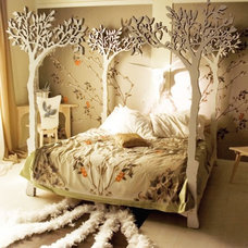 Eclectic Canopy Beds by EcoFirstArt