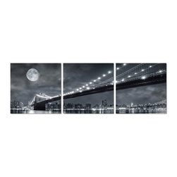 Elementem Photography - Brooklyn Bridge Moonrise Print - Mounting Instructions: