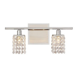 Vienna Full Spectrum Sparkle Collection Bath Light Fixture -