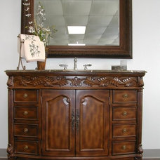 Traditional Bathroom Vanities And Sink Consoles by DFW Interiors