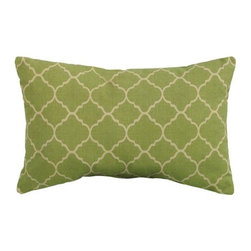 Pisa 19-Inch Wide Outdoor Pillow - Add some color and personality to your porch with these fun pillows. They will add not only some color and warmth to the space, but comfort as well — which is perfect if you end up napping on your porch like I do.