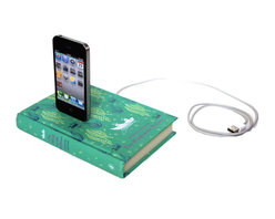Wind in the Willows Booksi for iPhone and iPod by Rich Neeley Designs - This book-shaped iPhone dock would make a charming yet practical gift. It's a win-win!