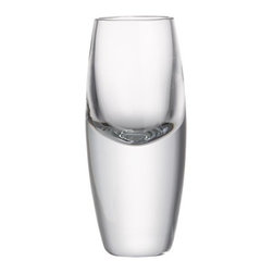 Kirby 2 oz. Cordial Glass - Ultra-contemporary cocktail-hour styling. Get a kick out of your favorite cordial, served in this dramatic glass with tall, heavy sham and sensuously curved cup. Suitable for formal or casual service of vodka, sherry or liqueurs.