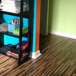 Kronopol Astoria laminate flooring - Great choice for boys room, office or hobby - Bestlaminate
