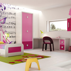 Macral Design. Kids and young bedroom - Composition Nº 2.