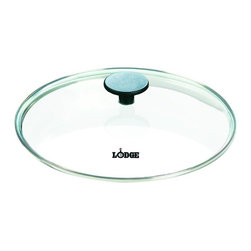Lodge - Lodge GC10 10.25 in. Glass Cover - 2992-2150 - Shop for Lids from Hayneedle.com! The Lodge GC10 10.25 in. Glass Cover helps keep those countertops clean. Made from clear glass this lid features an easy-lift handle that won't conduct the heat from your dish keeps burns to a minimum and helps cook evenly. Prevent spills spatters and boil-overs with this simple addition to your kitchen. Not dishwasher safe - wash with warm water and a stiff brush to keep clean. The lid fits most 10-inch diameter skillets.About Lodge Cast IronThe oldest family-owned cookware foundry in America Lodge Cast Iron was founded by Joseph Lodge in 1896. Located in South Pittsburg Tenn. alongside the Cumberland Plateau of the Appalachian Mountains Lodge is a family-operated business producing an extensive selection of quality cast iron goods including Dutch ovens the largest selection of cast iron skillets on the market deep fryers country kettles and more. The legendary cooking performance of Lodge Cast Iron cookware keeps it on the list of kitchen essentials for great chefs and home kitchens alike. After more than 112 years in the business Lodge cast iron cookware made generations ago is still in the kitchens of fourth generation cooks - proof that Lodge cast iron products can last more than a lifetime.