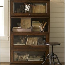 Bookcases by Pottery Barn