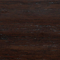 Strand Hand Scraped Java Wide Plank Bamboo Flooring - This floor comes with a dark and rich texture to add a wow factor to any room. Its rich color adds a dramatic feel to commercial and residential rooms alike.