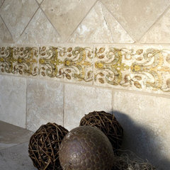 mediterranean kitchen tile by CheaperFloors