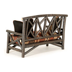 Rustic Settee #1238  by La Lune Collection - Rustic Settee #1238 by La Lune Collection