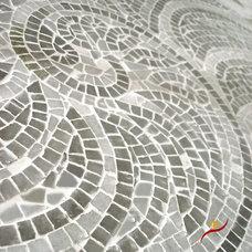 Contemporary Tile by Gnosis -custom mosaics-