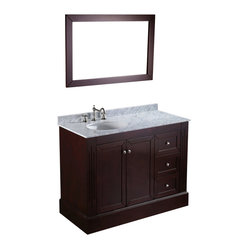 SB-255 Single Vanity with Mirror