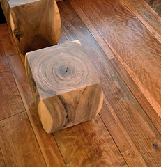 traditional wood flooring by DeadHead Lumber Company