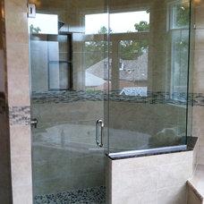Modern Showers by Paul's Glass Company