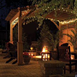 Outdoor Living - Your pergola can be your own private sanctuary... whether it's tea with your girlfriends, relaxing in the hot tub or getting lost in a good book, these pergolas will be right there helping to turn everyday happenings into memories.