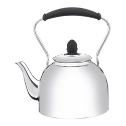 Cuisinart - Cuisinart Stainless Steel 2-Quart Classic Whistling Kettle - Professional quality 18/10 Stainless Steel