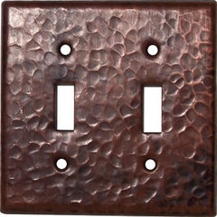 traditional switchplates by RusticSinks.com