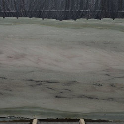 Royal Stone & Tile Slab Yard in Los Angeles - Wild Sea Green extoic granite slab from Italy at Royal Stone & Tile