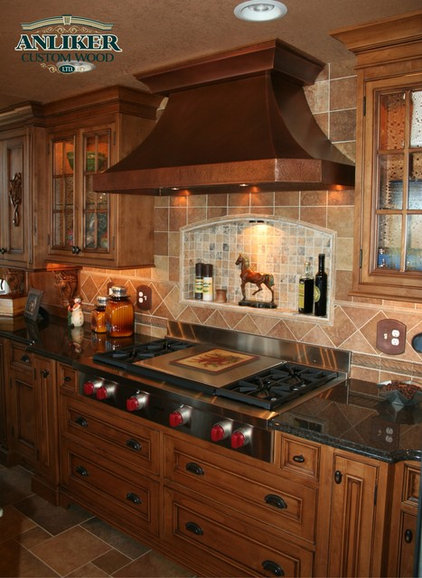Traditional Kitchen Cabinets by Anliker Custom Wood, Ltd