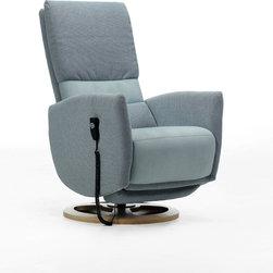 Sari Recliner, ROM Belgium - Sari Compact recliner. In version manual recliner or electric one, but always with elegance.