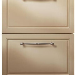 modern refrigerators and freezers by Kitchen Tradition