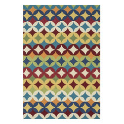"""Loloi Rugs - Hand Hooked Summerton Transitional Rug SUMRSRS17ML00 - 2'-3"""" X 3'-9"""" Hearth - Lay a new foundation to your favorite room with a hand-crafted rug from the Summerton Collection. Hand-hooked in China of 100% polyester, these spirited rugs earn notice through clean design and quality craftsmanship. And whether you re relaxing after a long day or just enjoying a lazy Sunday, the perfectly plush feel is a real treat for your feet. With shapes available in rectangles, small rounds, hearths, and runners, Summerton has a rug - or two - for any room."""