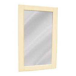 EuroLux Home - New Mirror Yellow Painted Hardwood Planked - Product Details