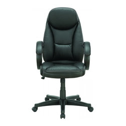 Modway Imports - Modway EEI-714-BLK Trendsetter Office Chair In Black - Modway EEI-714-BLK Trendsetter Office Chair In Black