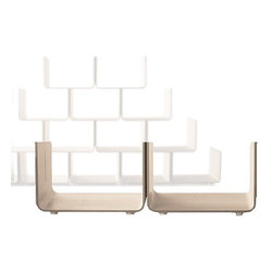 Magis - Magis | Elysee Shelving System Basic Unit, Set of 2 - Design by Pierre Paulin, 2009.