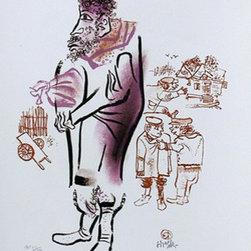 William Gropper, Untitled 23, Lithograph - Artist:  William Gropper, American (1897 - 1977)