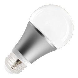 SunSun - SunSun Lighting 6.5W A19 LED, Neutral White, Dimmable - SUNSUN LIGHTING SI-JA19E26D07-30AL.