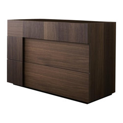 Rossetto - Rossetto Air Dresser and Mirror Set in Warm Oak - Rossetto - Dressers - T422400000010T4228Set