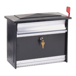 SOLAR GROUP - Black Lock Secure Mailbox - Features: