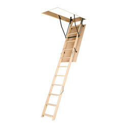 Fakro - LWN (OLN) 22 1/2x54 Wooden Basic Attic Ladder 25 lbs - LWN (OLN) 22 1/2x54 Wooden Basic Attic Ladder 25...