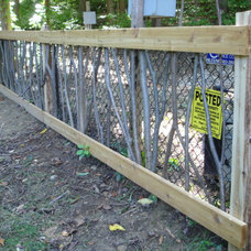Rustic Home Fencing And Gates by Hearthwoods Custom Furnishings