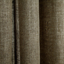 Linen Sheer Metallic Drapery in Pewter - Discount 100% Belgian Linen Sheer Metallic Drapery Fabric in Pewter Grey can be used as drapes, curtains, canopy, or wall covering (if backed).