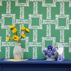 Large Boxwood Trellis Wall Stencil - A contemporary trellis design addition to our Modern Stencil Collection from Royal Design Studio, our new Boxwood Trellis Allover Wall Stencil will add a sophisticated and fresh touch to your home. Paint it in vibrant colors for a refreshing Palm Beach look, or in muted metallics for a more elegant feel.