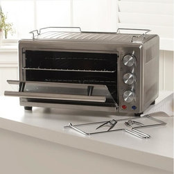 Wolfgang Puck - Wolfgang Puck 22-Liter Convection Toaster Oven with Rotisserie (Refurbished) - Experience the ultimate in cooking versatility without heating up your whole kitchen. This countertop oven by Wolfgang Puck lets you bake, broil and toast all in one convenient appliance.