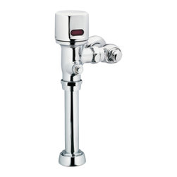 "Moen - Moen 8310DF16 Chrome Brass 1 1/2"" Top Spud Sensor Flush Valve Battery Operated - The Moen M-Power series allows ease-of-use and functionality with it's sensor-operated faucets and flush valves."